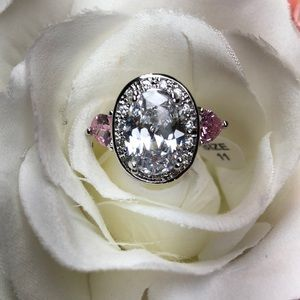 New! 925 stamped ring/jewelry size 11